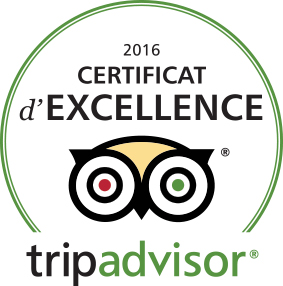 Logo d'excellence tripadvisor